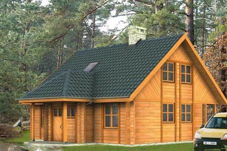 дома на основе деревянного каркаса г.Казань